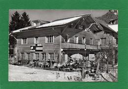 ZWEISIMMEN  TEA-ROOM  PENSION DERBY  Propriétaire H.Eggen-Müller CPSM  Année 1961  EDIT WEHRLI - BE Bern
