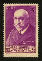 FRANCE - YT 377A * - CHARCOT - TIMBRE NEUF * - Neufs