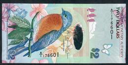 BERMUDA P57b  2  DOLLARS  2009  #A/1 Signature 41 UNC. - Bermudas