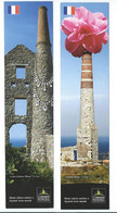 689 MP -  2 Signets - CORNISH MINING - World Heritage (2) - Marcapáginas