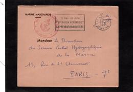 LSC 1961 - Entête MARINE MARCHANDE Et Cachet Direction De L'Inscription Maritime - LE HAVRE - Schiffspost
