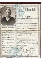 E 17  1933 Carte D'identité Région Concarneau/quimper - Non Classificati