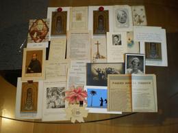 Lot De Documents / Images Religieux - Andachtsbilder