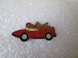 PIN'S   CORVETTE - Corvette