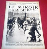 Miroir Des Sports N°132 Janvier 1923 Eugène Christophe, Eugène Criqui ,Versailles Paris, Joseph Thoret,Joe Hamman Cinéma - Sport