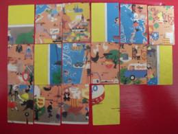 16  Images Kergao. Lot 259. Album Collecteur Poster Puzzle Carte De France Gastronomique En 72 Images. Vers 1960. - Andere