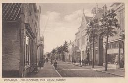 Waalwijk - Postkantoor Met Grootestraat - Waalwijk