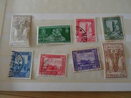 ITALIE SOMALIA Collection Neuf*  + Oblitéré1926-1938 - Sammlungen (im Alben)