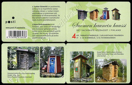 [S] Finlandia / Finland 2013: Libretto Cabine / Prettiest Outhouses Booklet ** - Other