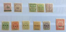 COLONIE INGLESI - TRANSVAAL - 1888-1900 - COLLEZIONE  DI 11 VALORI NUOVI PERFETTI ** - Transvaal (1870-1909)