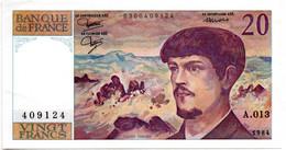 20 Francs 1984 Debussy Alph A.013 / SUP - 20 F 1980-1997 ''Debussy''
