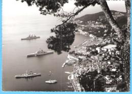 Villefranche-sur-Mer-Alpes Maritimes-1969-La Rade Et Les Navires (Navire) De Guerre-Photographe G.Gasiglia-Villefranche - Villefranche-sur-Mer