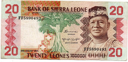 Sierra- Leone / 20 Leones 24/8/1984 / TTB - Sierra Leone