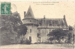 CPA - Villefranche Du Périgord - Château Le Vassal-Vineuil ( St Cernin De L'herm ) - Otros Municipios