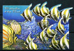 Pitcairn Islands 2001 Reef Fish MS Used (SG MS604) - Islas De Pitcairn