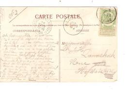REF2189/TP 53 S/CP Laeken C.BXL 1906  > Hofstade (Aalst)  C.d'arrivées Alost&c.Relais Etoile Hofstade (Flandre) 26/9/06 - Sterstempels
