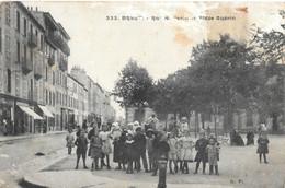 Brest - Rue Navarin Et Place Guérin - Brest