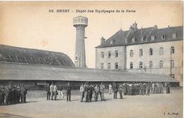 Brest - Dépôt Des équipages De La Flotte - JD 86 - Brest