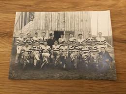 Rare Photo De L'équipe De Rugby De Villeneuve Sur Lot Années 20 18 X 12 Cm - Sport