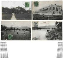 ANNAM  Lot De 4 Cartes   ( En L'état) - Vietnam