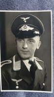 CPA OFFICIER ALLEMAND SS NAZI EN COSTUME GUERRE 39 45 ED MIMOSA CROIX GAMMEE - Weltkrieg 1939-45