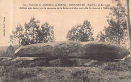 DOLMEN Et MENHIR - MOUSTOIR - AC ( 56 )    Megalithes De LANVAUX - Dolmen  Avec Bassin ... - Dolmen & Menhirs