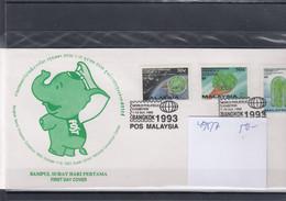 Malaysia Michel Cat.No. FDC 495/497 - Malaysia (1964-...)