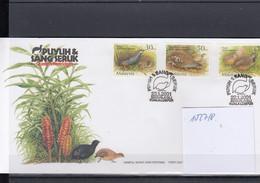 Malaysia Michel Cat.No. FDC 1027/1028 Birds - Malesia (1964-...)