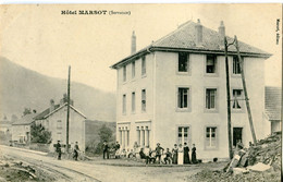 GD  70 SERVANCE Hôtel MARSOT Animée - Autres Communes