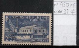 France YT 430 ** Mnh Cote 37€ - Unused Stamps