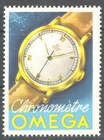 Switzerland OMEGA Watch Clock Watches Cronométre- MNH Cinderella / Label / Vignette - MH - Relojería