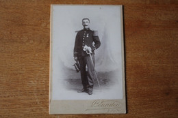 Cabinet Lieutenant 22 RIC ?   Médaille Du Tonkin   Par COUADOU  Toulon  Vers 1905 - Guerra, Militari