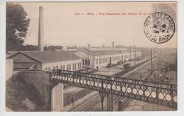 CPA Arles - Vue D'ensemble Des Ateliers P.-L.-M. - Arles