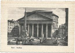 W5800 Roma - Il Pantheon - Auto Cars Voitures / Non Viaggiata - Pantheon