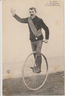 CPA   A AUDIBERT LE ROI DU MONOCYCLE  TTB BP - Cycling