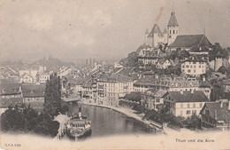 N°7671 R -cpa Thun Und Die Aare - BE Berne