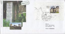 BRD  Block 72, FDC, Echt Gelaufen (mit Strichcode), UNESCO-Welterbe: Limes, 2007 - Blocks & Sheetlets