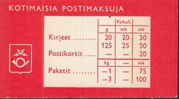 FINNLAND  Markenheftchen Mit 5x 557 I, Postfrisch **, Wappenlöwe 1963 - Markenheftchen