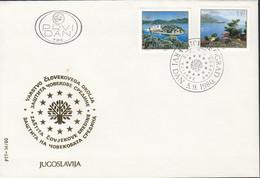 JUGOSLAWIEN  1847-1848, FDC, Naturschutz, Europa: Mitläufer-Ausgabe, 1980 - 1980