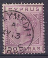 CYPRUS  QV   WMK  CA DIE II  30 PARAS  USED - Chipre (...-1960)