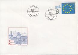 TSCHECHOSLOWAKEI  3067, FDC, Konferenz Der Helsinki-Bürgerkomitees, Prag, Europa Mitläuferausgabe, 1990 - 1990