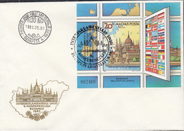 UNGARN  Block 163 A, FDC, Europa: KSZE-Ausgabe, 1983 - 1983