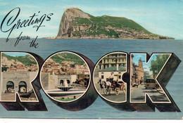 Gibraltar Belle Multi-vues Animée Attelage Bus Autobus - Gibraltar