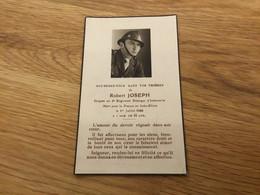 Carte De Décès D'un Sergent Du 3°REI Légion Étrangère Tué Le 1° Juillet 1946 En Indochine - Documents