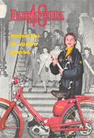 """1573 """"CARTA ASSORBENTE-LAMBRETTA 40-MOTORIZZA LE VOSTRE GAMBE"""" - Bikes & Mopeds"""