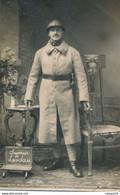 Carte-Photo - Portrait Militaire - 21ème Dragons - Souvenir De Landau (06.2.1921) - Guerra, Militari