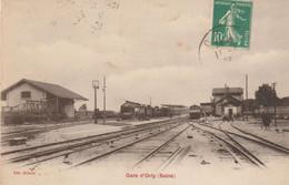 ORLY (Val De Marne) - La Gare - Edition Gilbert. Circulée. Bon état. - Orly