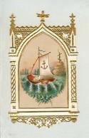 IMAGE RELIGIEUSE TRES BELLE EN SUPERBE ETAT DE 1893 A MATHILDE GERARD O JESUS APPRENEZ MOI LA VRAIE SAGESSE - Devotion Images