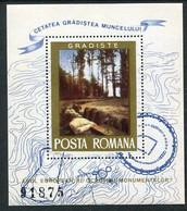 ROMANIA 1975 European Protection Of Monuments  Block MNH  / **.  Michel Block 121 - Blocks & Kleinbögen