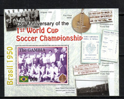 Gambia Football Soccer World Cup MNH -(V-34) - Andere